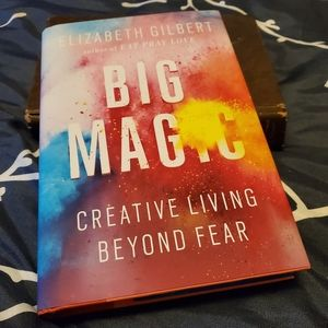 Signed, unread first edition of Big Magic